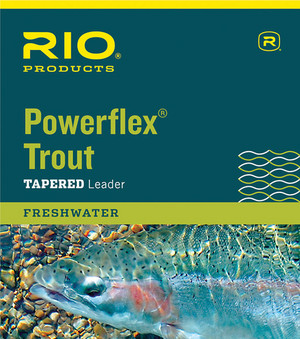 RIO Powerflex Taperad Trout Tafs 12ft - 7X - 0,10mm