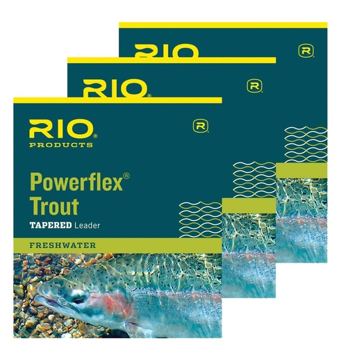 Rio Powerflex TroutLeader 9ft 3-pack - 7X 0,10mm/1,1kg