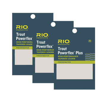 RIO PowerflexPlus Tafs 9 ft 3 pack