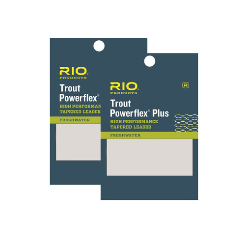 RIO PowerflexPlus Taperad Tafs 9ft 2 pack - 7X - 0,10mm