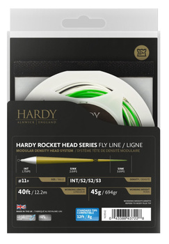 Hardy Scandi Rocket head med Tip I/S2/S2/S3