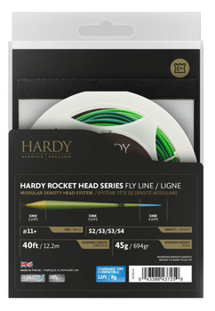 Hardy Scandi Rocket head med Tip S2/S3/S3/S4