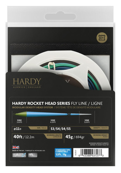 Hardy Scandi Rocket head med Tip S3/S4/S4/S5