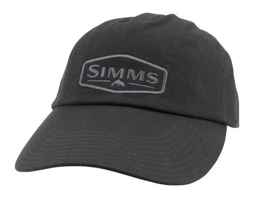Simms Double Haul Cap Black