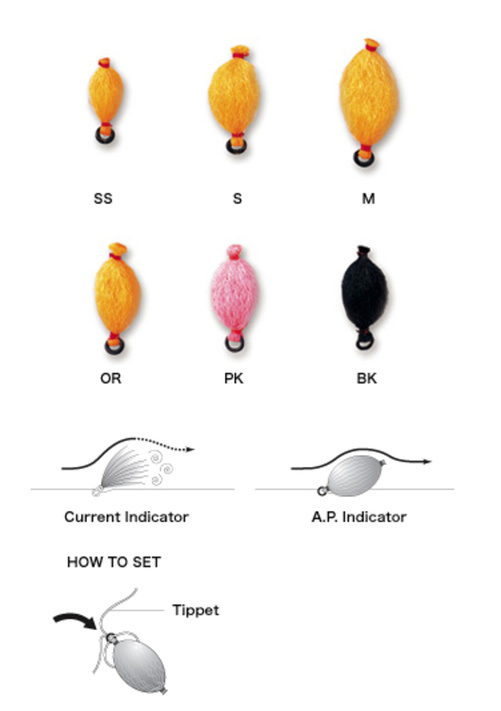 C&F A.P.Indicator M Orange (CFA-130OR-M)
