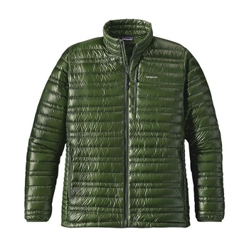 Patagonia Men's Ultralight Down Jacket Buffalo Green