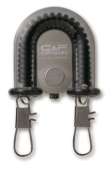C&F 2-in-1 Retractor w Fly Catcher Black (CFA-70WF)