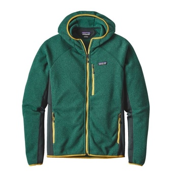 Patagonia Men's Performance Better Sweater™ Fleece Hoody Green