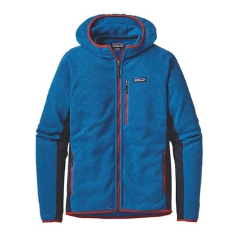 Patagonia Men's Performance Better Sweater™ Fleece Hoody Blue/Red