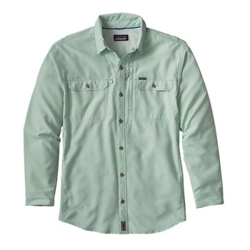 Patagonia Men's Long-Sleeved Sol Patrol™ II Shirt Green