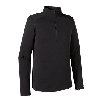 Patagonia Men's Capilene® Thermal Weight Zip-Neck Black