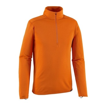 Patagonia Men's Capilene® Midweight Zip-Neck Orange
