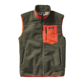 Patagonia M's Classic Retro-X Vest Green/Orange